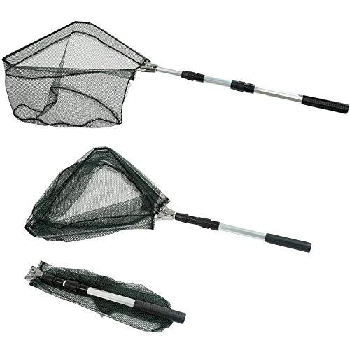 Telescopic fishing net
