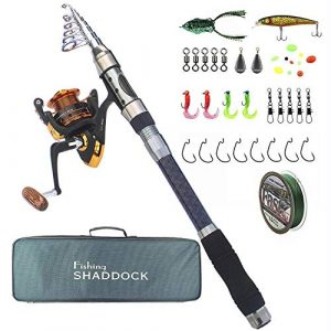 Telescopic Rod Reel Combo