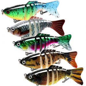 Assorted Fishing Tackle Multi Jointed