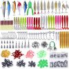 Assorted Fishing Tackle with Box