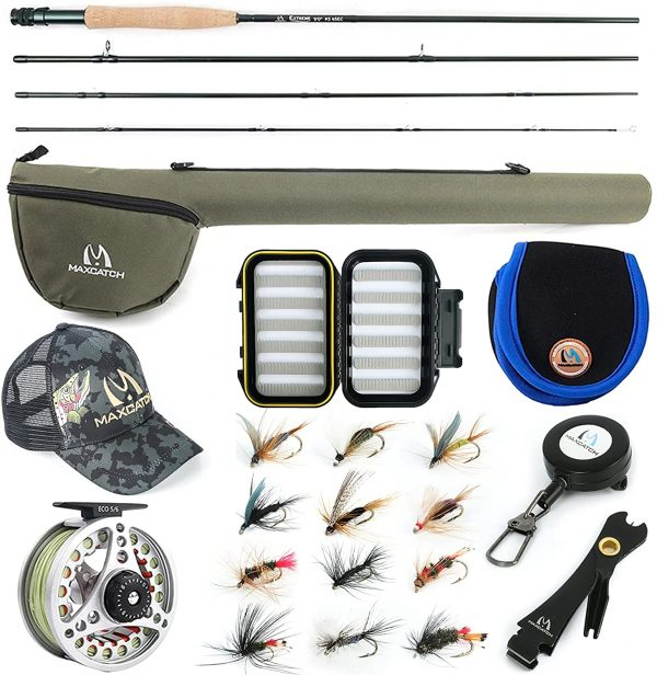 Maxcatch Extreme Fly Fishing Combo