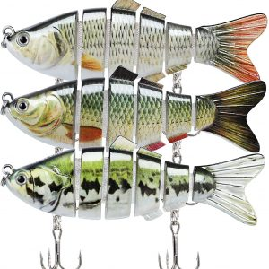 Truscend Multijointed Bass Lure Set